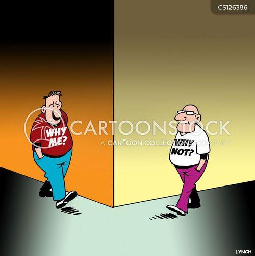 distraught cartoon
