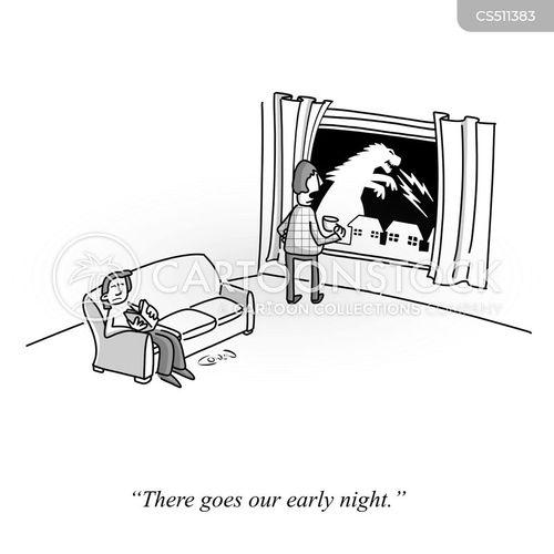 nights in cartoon