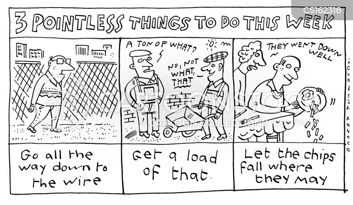 pointless things cartoon
