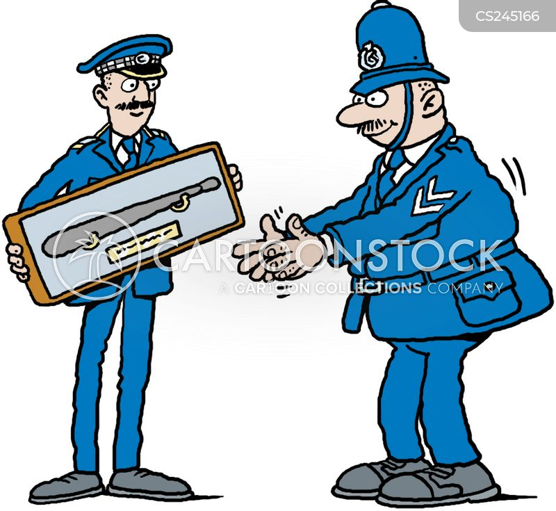 truncheon cartoon