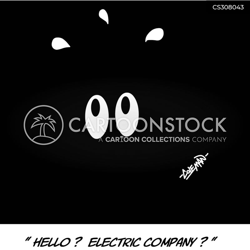 electric companies cartoon