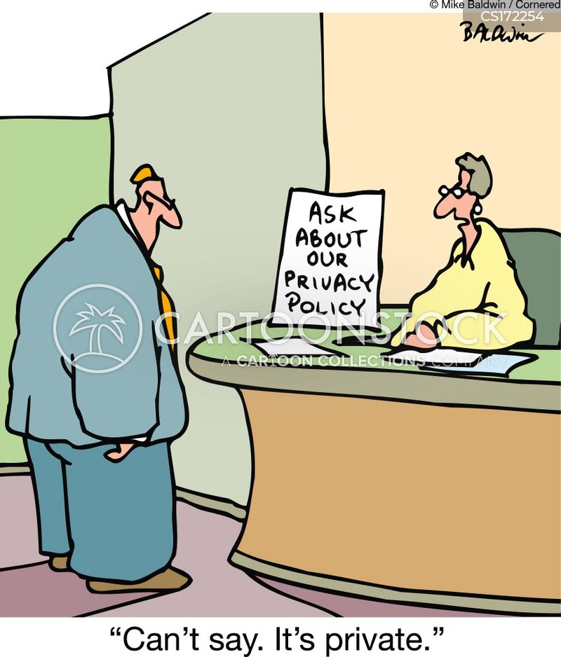 privacy laws cartoon
