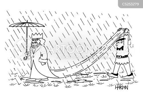 courtier cartoon