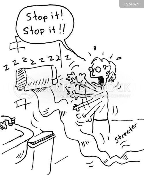 malfuntioning cartoon