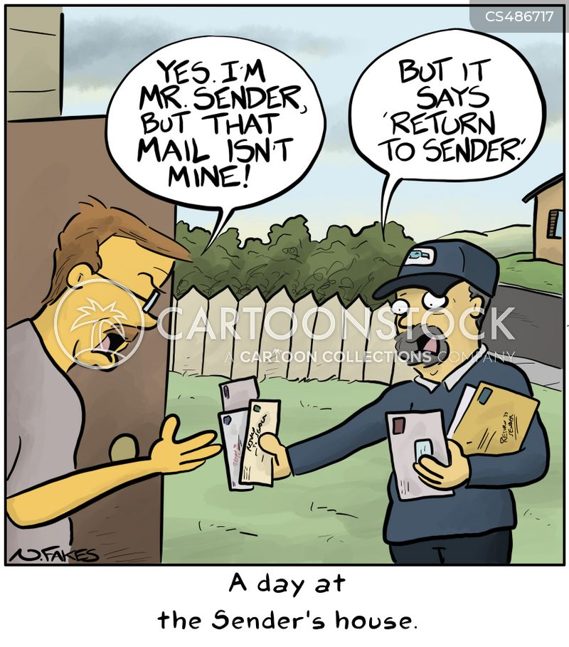 wrong addresses cartoon