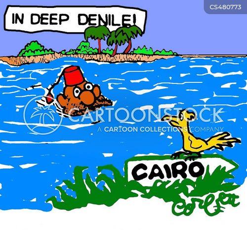 river nile cartoon