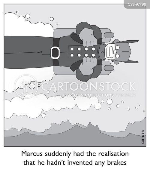 blast off cartoon
