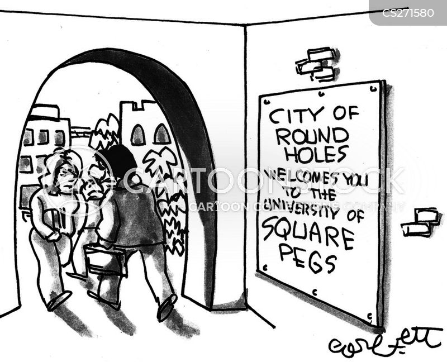 square pegs cartoon