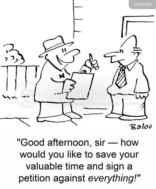 valuable time cartoon