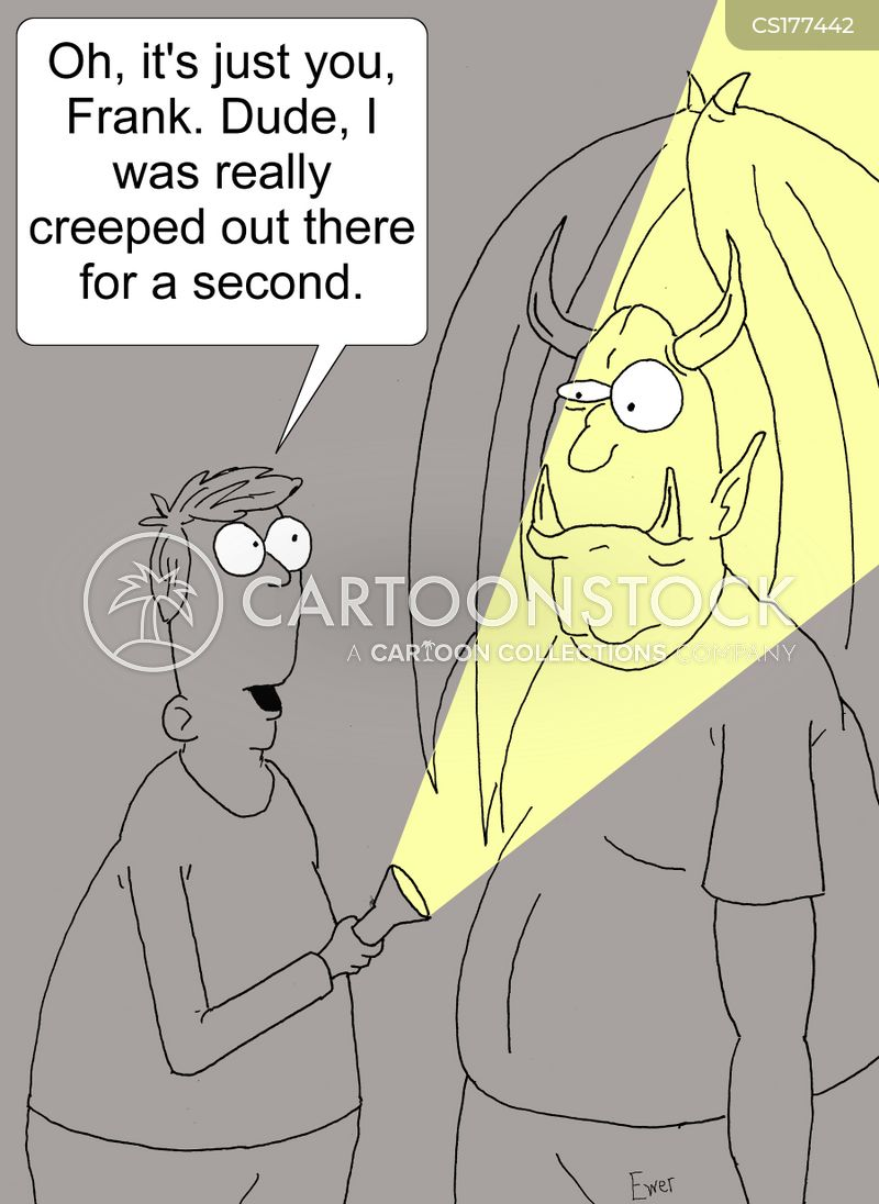 creeped out cartoon