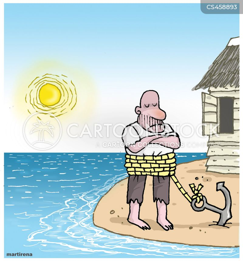 sea man cartoon