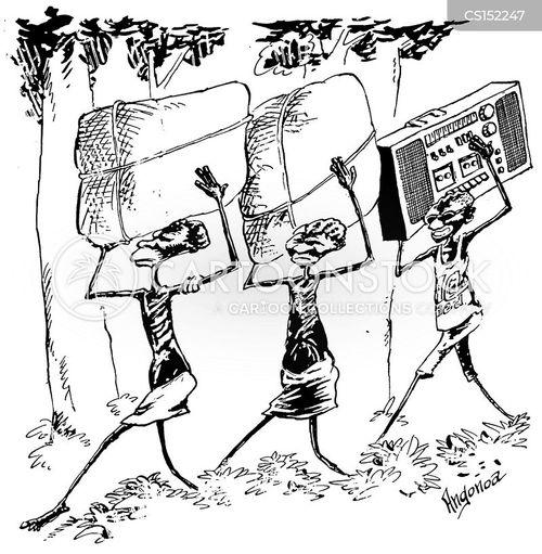 ghetto blasters cartoon