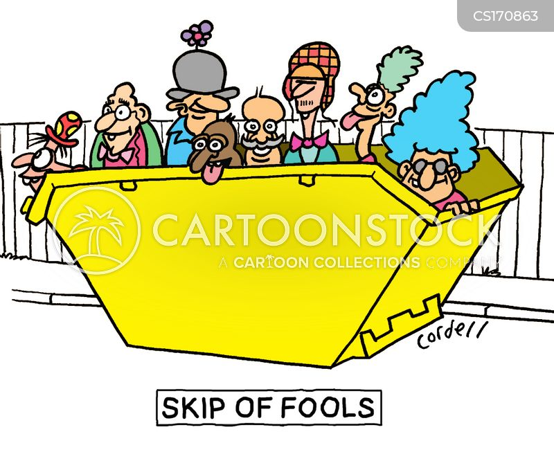 skip cartoon