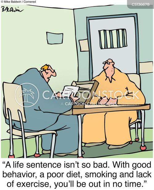 life sentence cartoon
