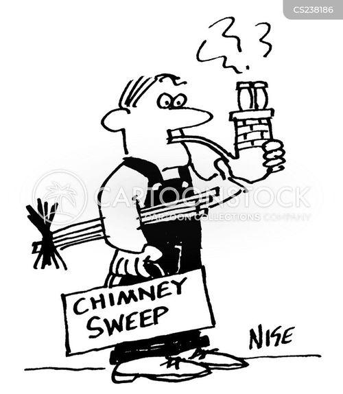 pipe smoking cartoon