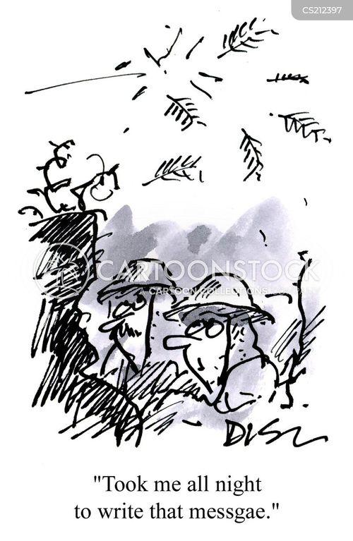 sandbags cartoon
