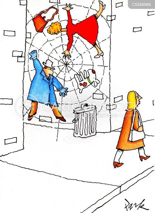 passers by cartoon