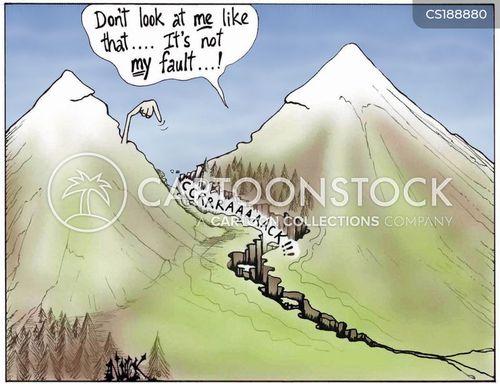 fault lines cartoon