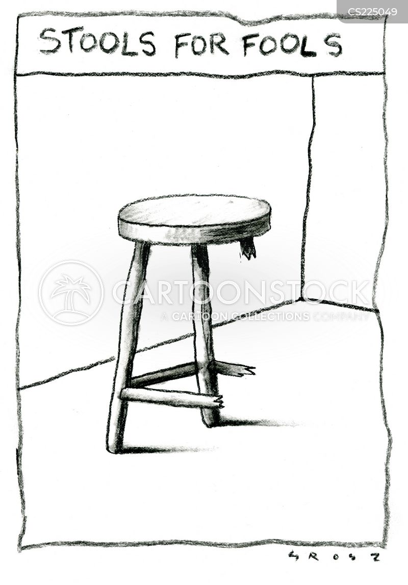 stool legs cartoon