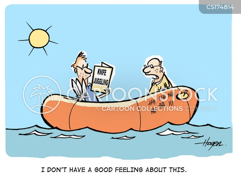 Image result for funny cartoons on stranded at sea