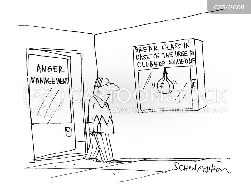 clobbering cartoon