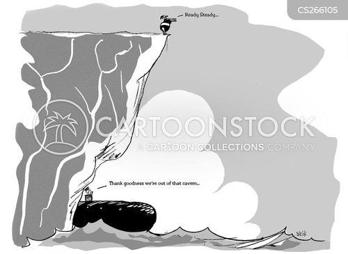 caverns cartoon