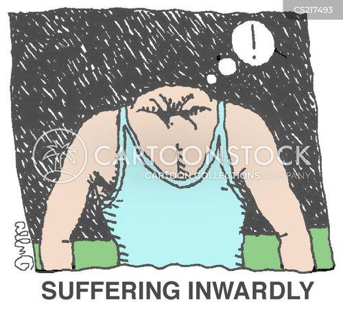 anguish cartoon