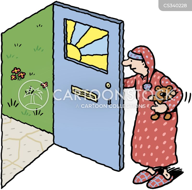 Front Doors Cartoons And Comics Funny Pictures From Cartoonstock