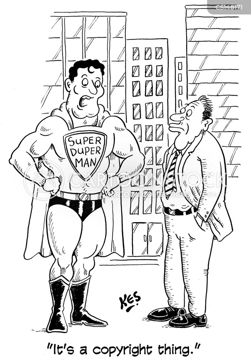 copyright issues cartoon