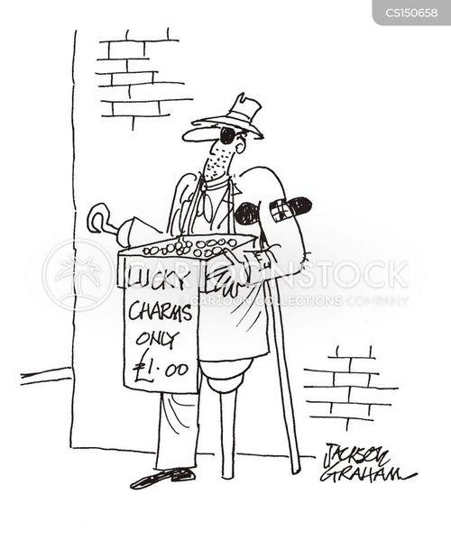 lucky charm cartoon