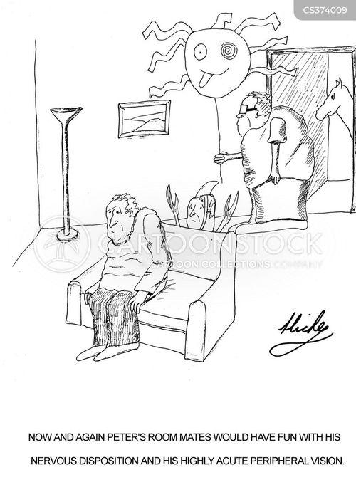room mates cartoon