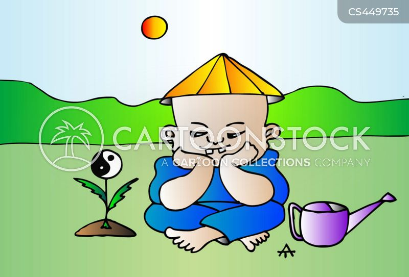 taoist cartoon