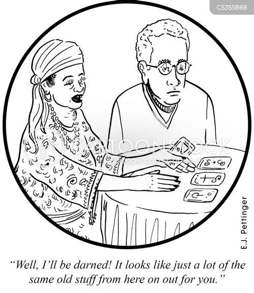 tarot cards cartoon