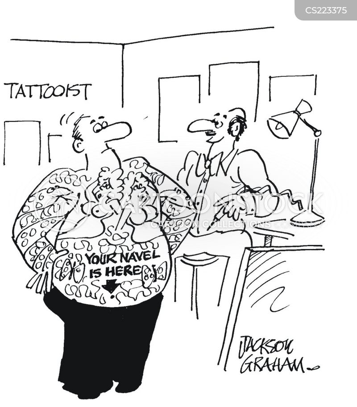 tattooes cartoon