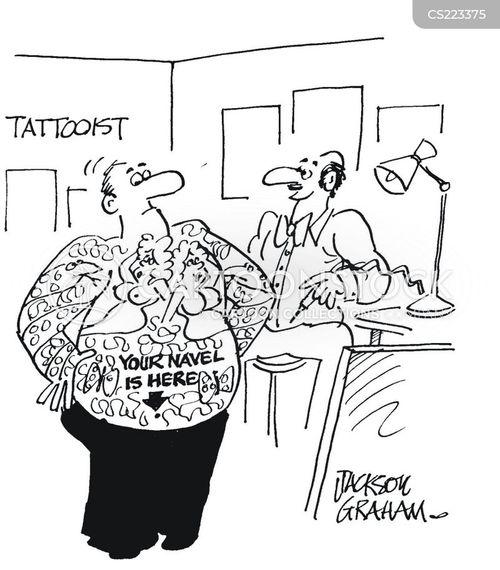 navels cartoon