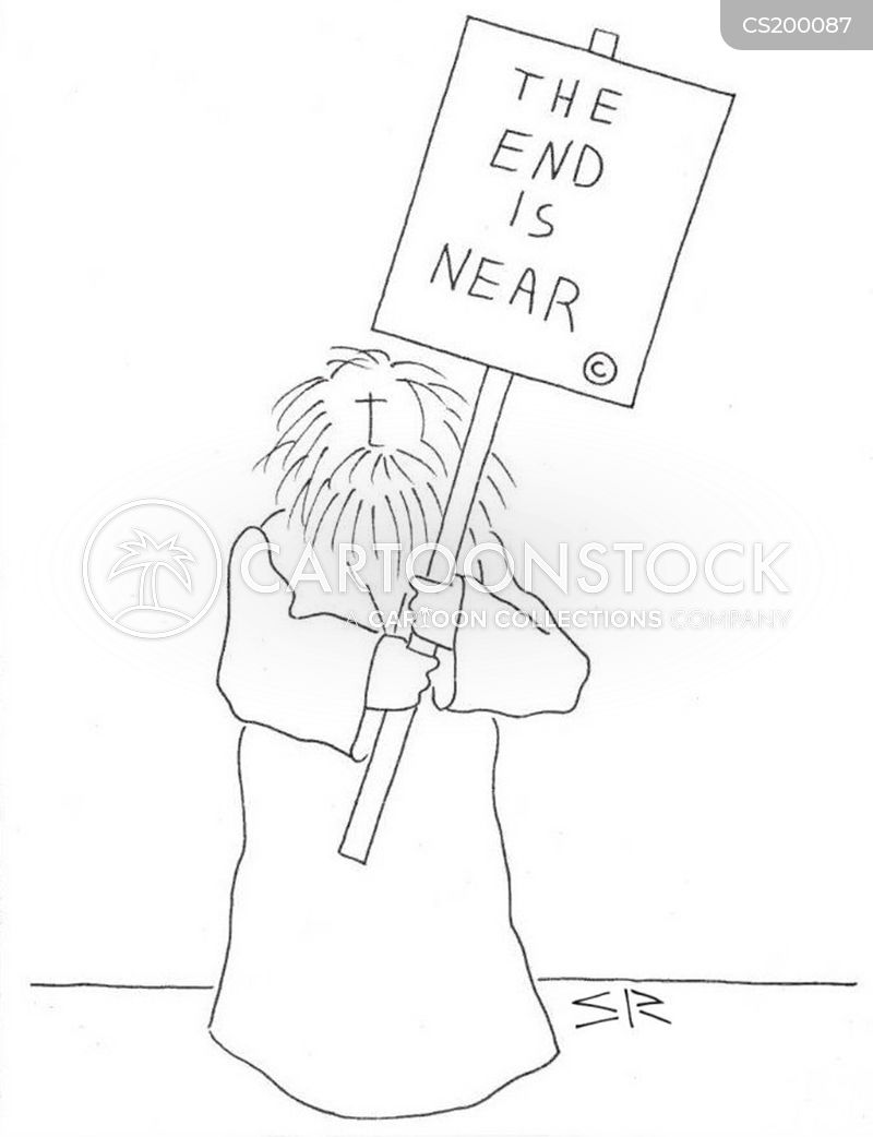 end is nearh cartoon