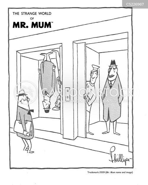 upside cartoon