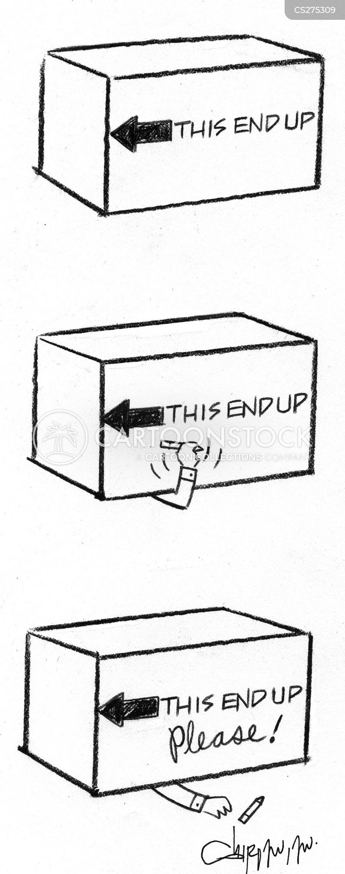 packaged cartoon