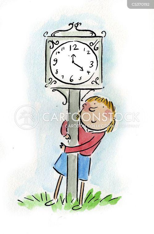 time-piece cartoon