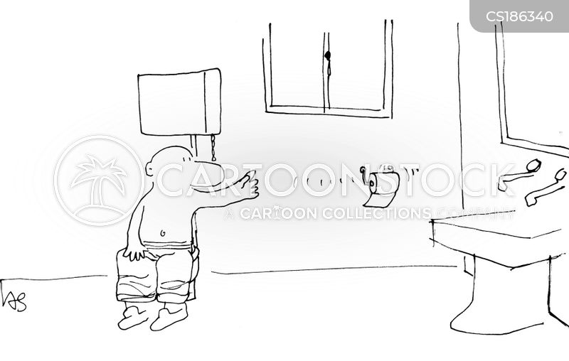 Toilette Cartoon, Toilette Cartoons, Toilette Bild, Toilette Bilder, Toilette Karikatur, Toilette Karikaturen, Toilette Illustration, Toilette Illustrationen, Toilette Witzzeichnung, Toilette Witzzeichnungen