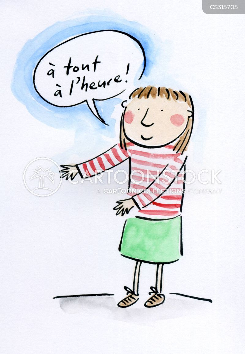 french speaker cartoon