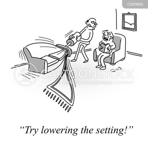 settings cartoon