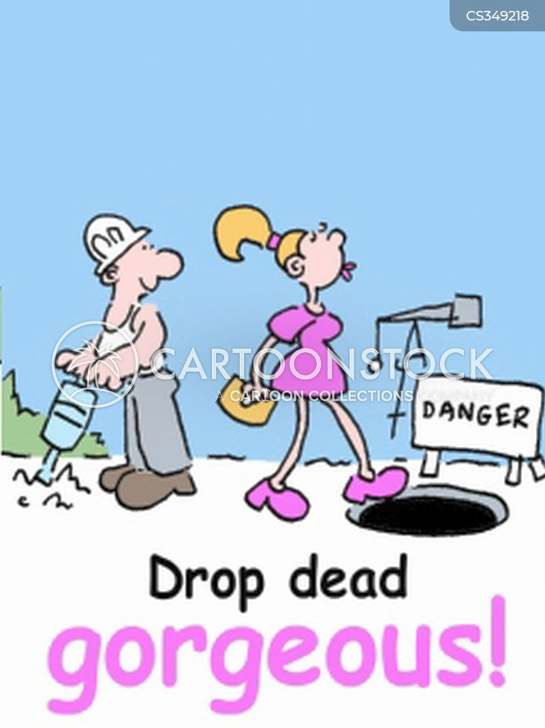 drop dead gorgeous cartoon