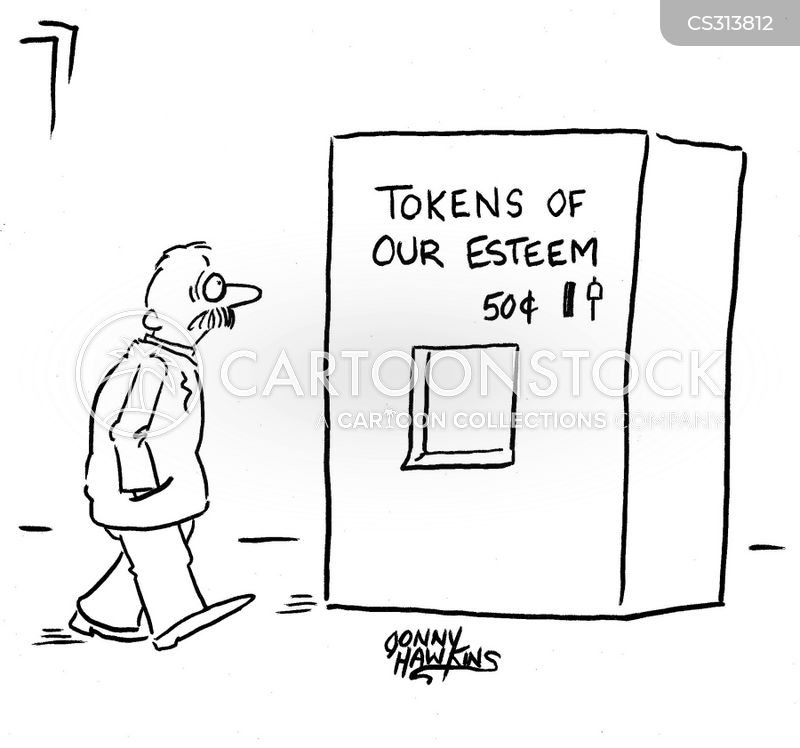 tokens cartoon