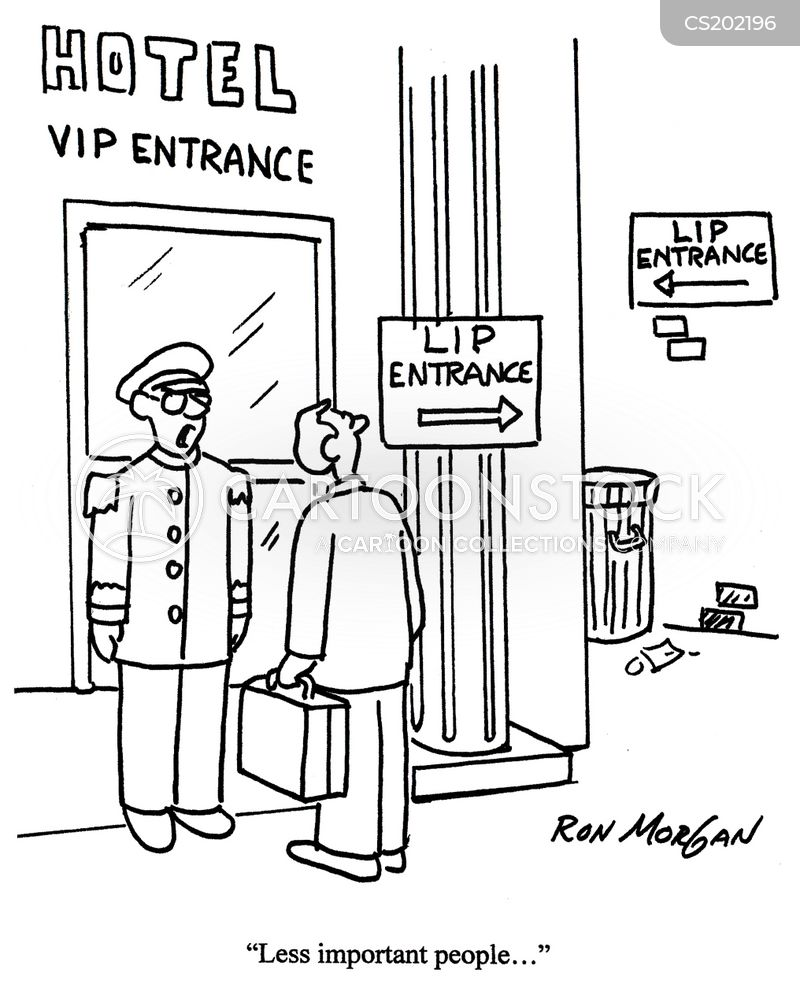 very important person cartoon