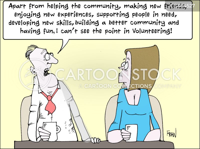 voluntary cartoon