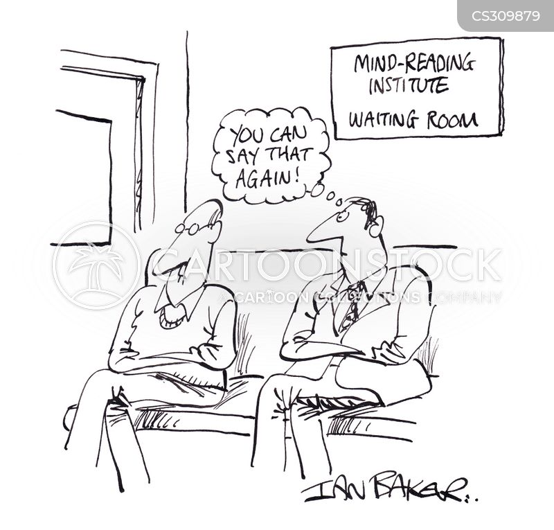 reading minds cartoon