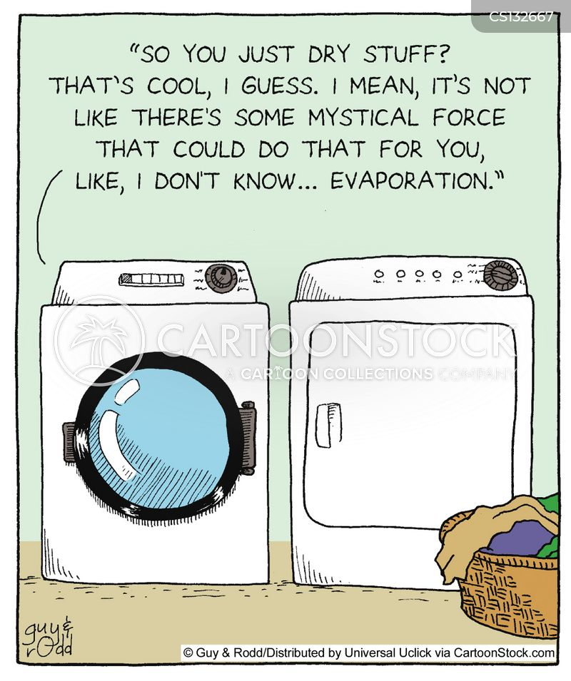 washer cartoon