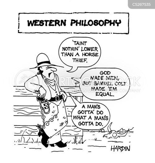 man equal cartoon