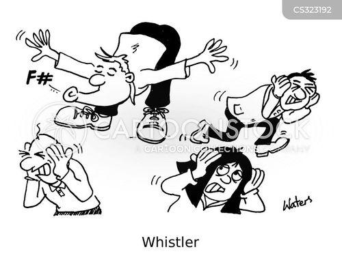 high pitch cartoon
